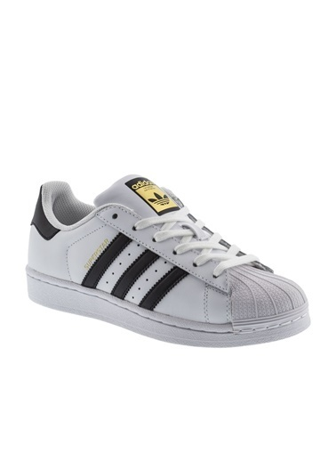 adidas Unisex Superstar Sneakers 161833 Beyaz